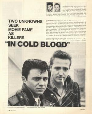 in cold blood actor interview