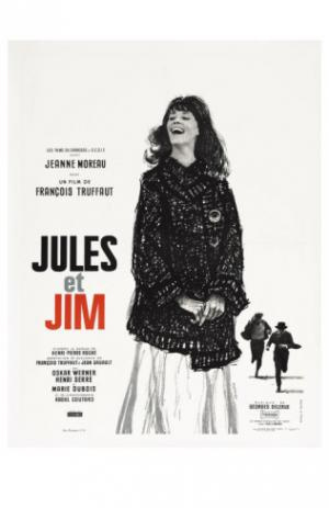 jules and jim french movie poster 1961