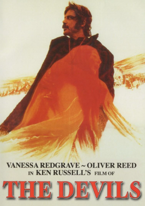 ken russell the devils vanessa redgrave oliver reed movie poster 1971